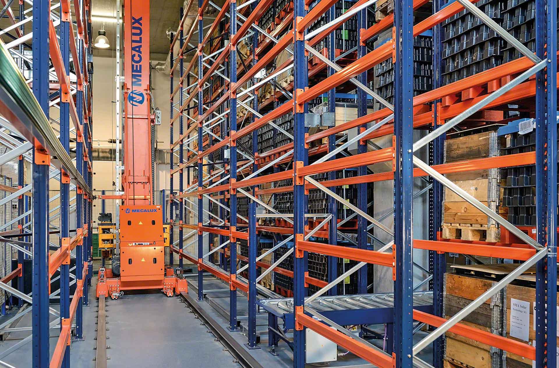 Automatik- und Lagersysteme müssen in die Wartungspläne zur vorbeugenden Instandhaltung aufgenommen werden.