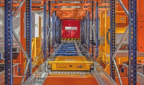 Automatisches Pallet Shuttle