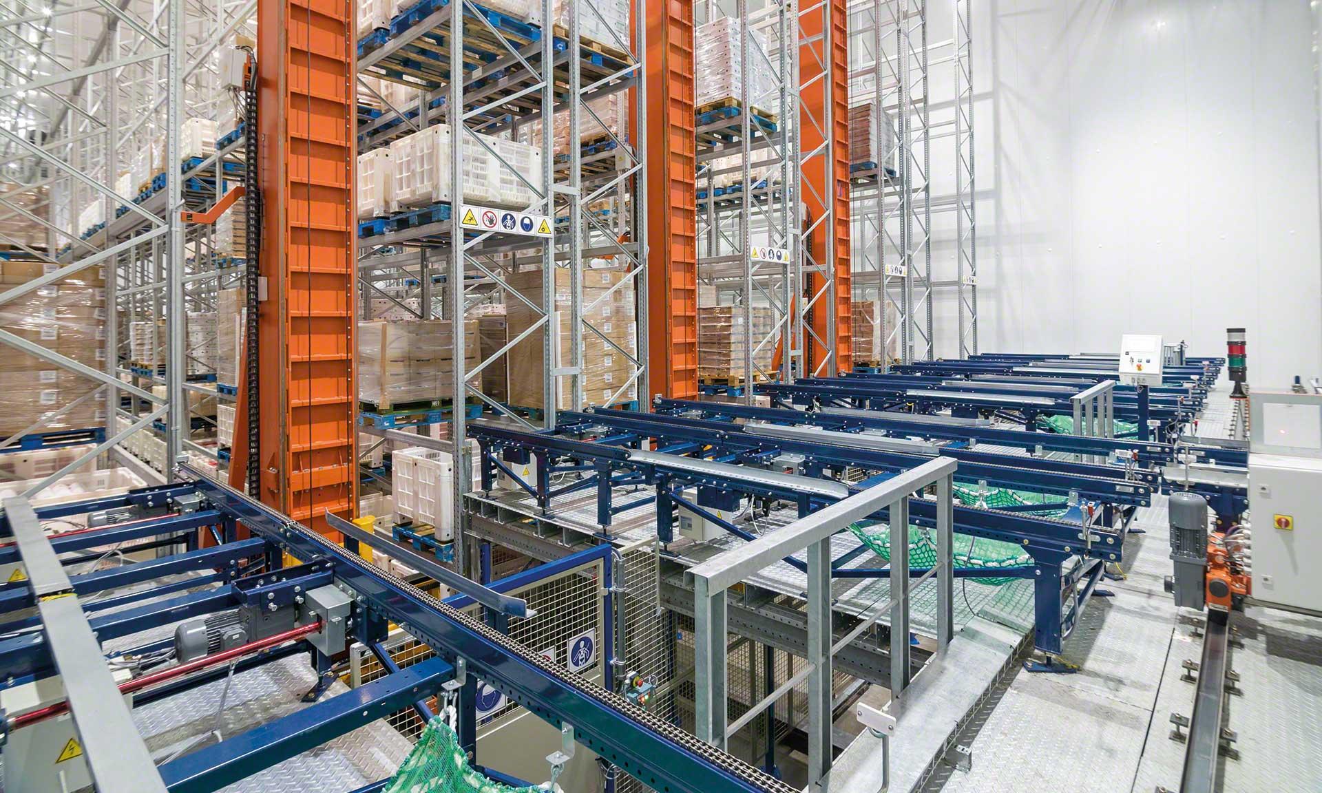 Die Effizienz und Einfachheit eines automatischen Kühllagers