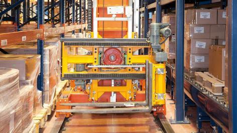 Mecalux hält das Logistikunternehmen Disalfarm in Bewegung