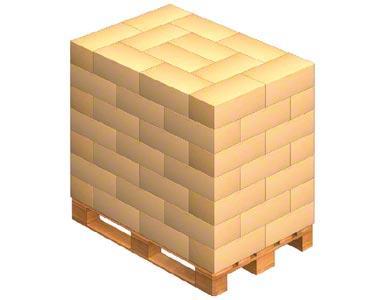 ineinander gefügte Kisten