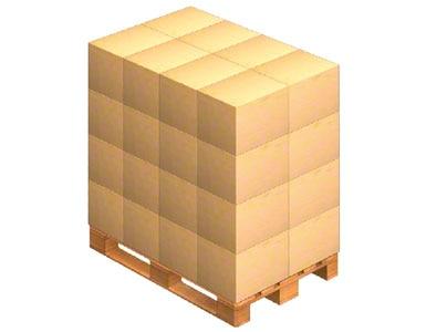 Gestapelte Kisten