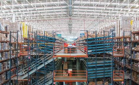 Dynamische Kommissionierregale sind der Höhepunkt des neuen Lagers von Apymsa, einem führenden mexikanischen Unternehmen für den Verkauf von Automobilteilen