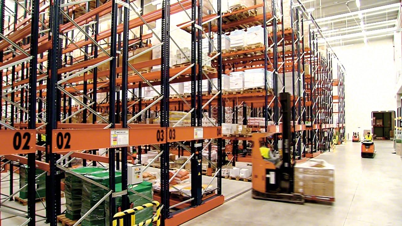 Verschieberegalanlagen Movirack: Havi Logistics