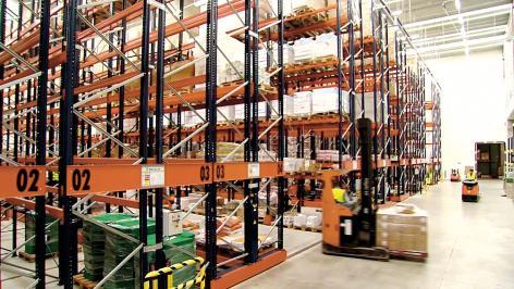 Havi Logistics erweitert das Logistikpotenzial mit Mecalux-Systemen