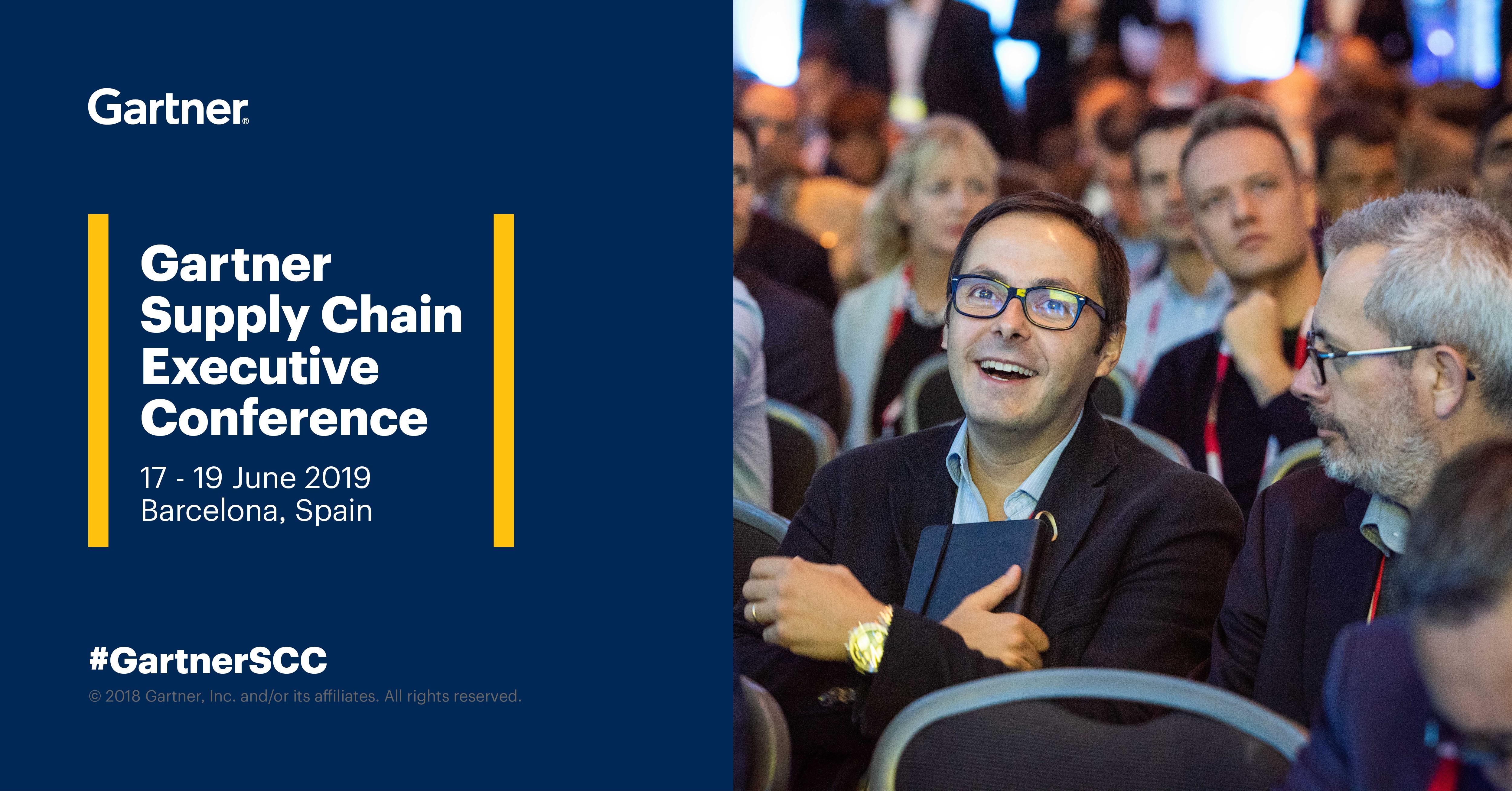 Mecalux auf der Gartner Supply Chain Executive Conference 2019