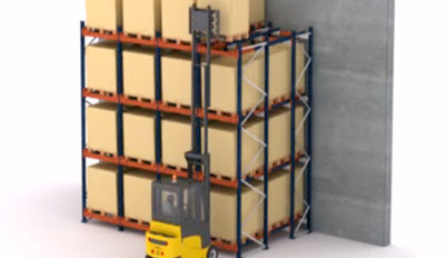 Funktionsweise des Push-back-Systems