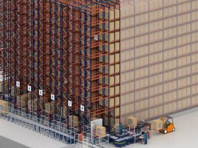 Wie lässt sich bei den logistischen Prozessen in einem vollautomatischen Lager Energie sparen?