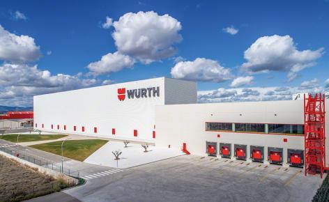 Würth erweitert seine Lagerkapazität dank eines schlüsselfertigen Projektes, welches von Mecalux implementiert wurde