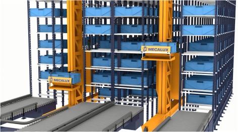 Automatische Kleinteilelager - Miniload