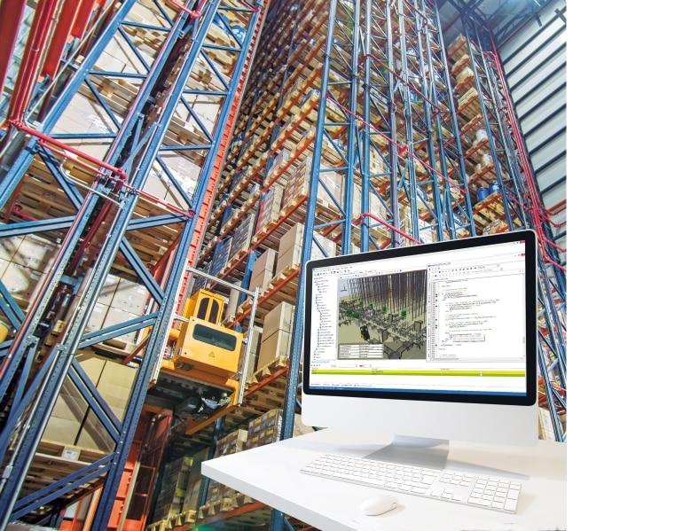 Die Simulation: Steuerung und Überwachung aller Prozesse