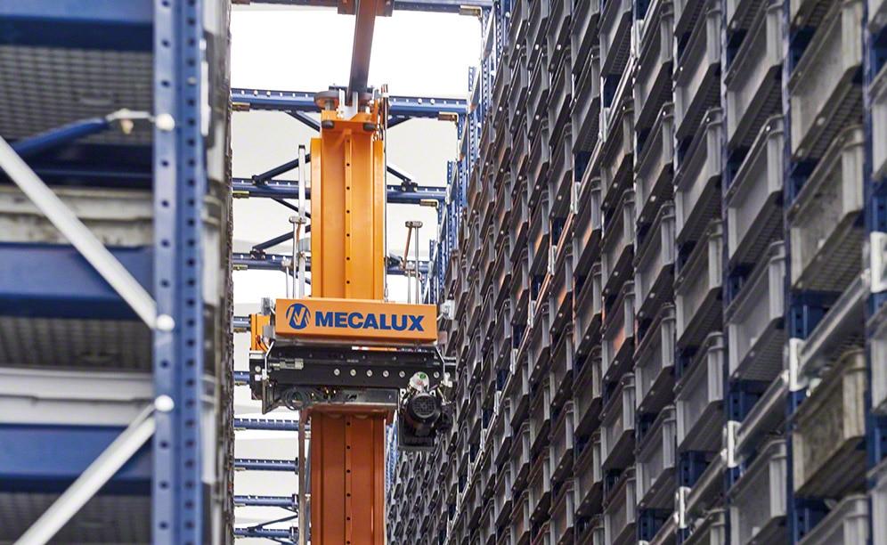 Paolo Astori erhöht die Kapazität des automatisierten Behälterlagers in Mailand