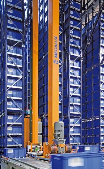 Cogeferm erweitert Lagerkapazität seines automatisierten Behälterlagers in Paris