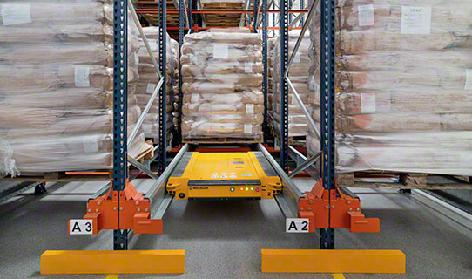 Pallet Shuttle Lagersysteme