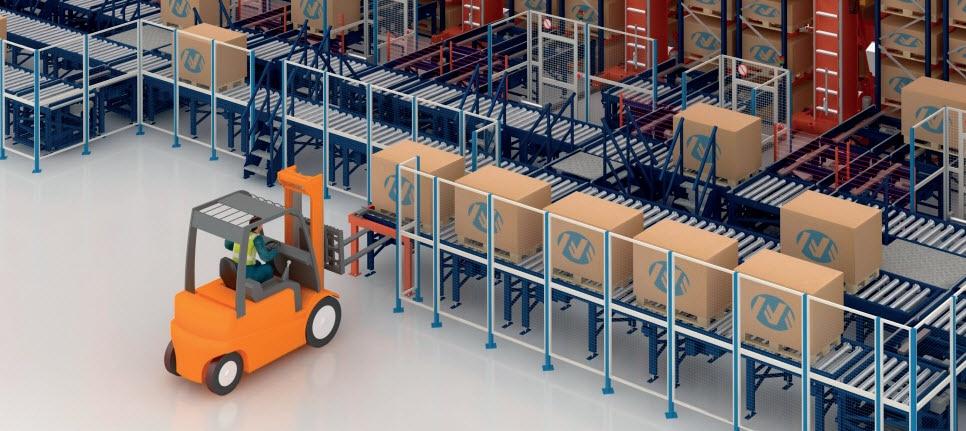 Automatisierung des Lagers von IKEA Components in der Slowakei