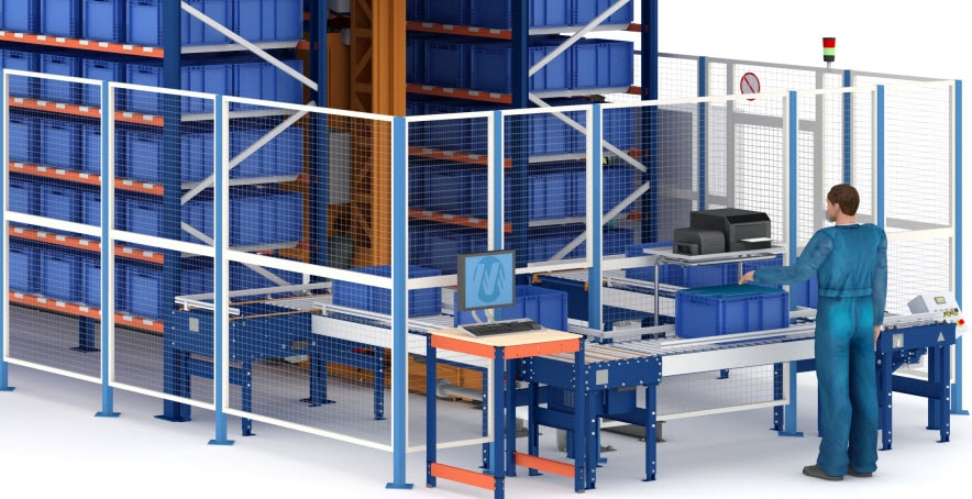 Neues automatisiertes Behälterlager von Airgrup in Sevilla