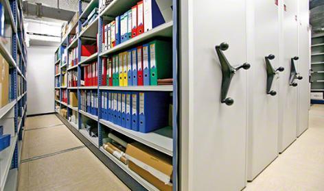 Rollregale Archivsysteme | Movibloc