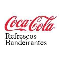 Lager für die Getränke von Coca-Cola Refrescos Bandeirantes in Brasilien