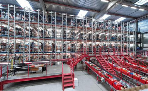 Wie beschleunigt man E-Commerce-Aktivitäten mit über 300.000 Artikelarten