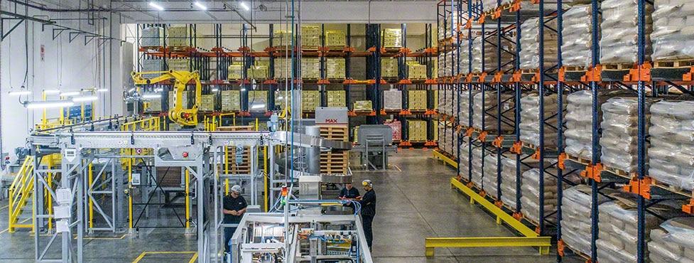 Nestlé nimmt in Argentinien ein Lager für die Milchpulverlinie in Betrieb