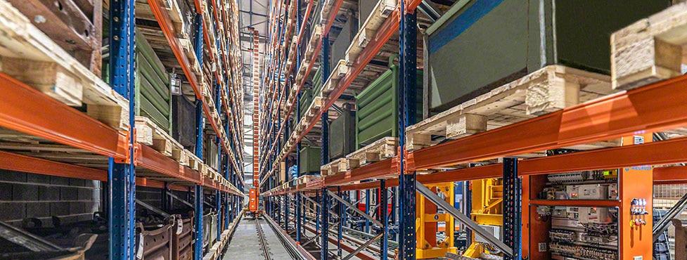 Alcorta Forging Group: Technologie, die das Lager mit der Produktion verbindet