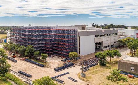 La Piamontesa modernisiert sein neues automatisches Lager in Argentinien