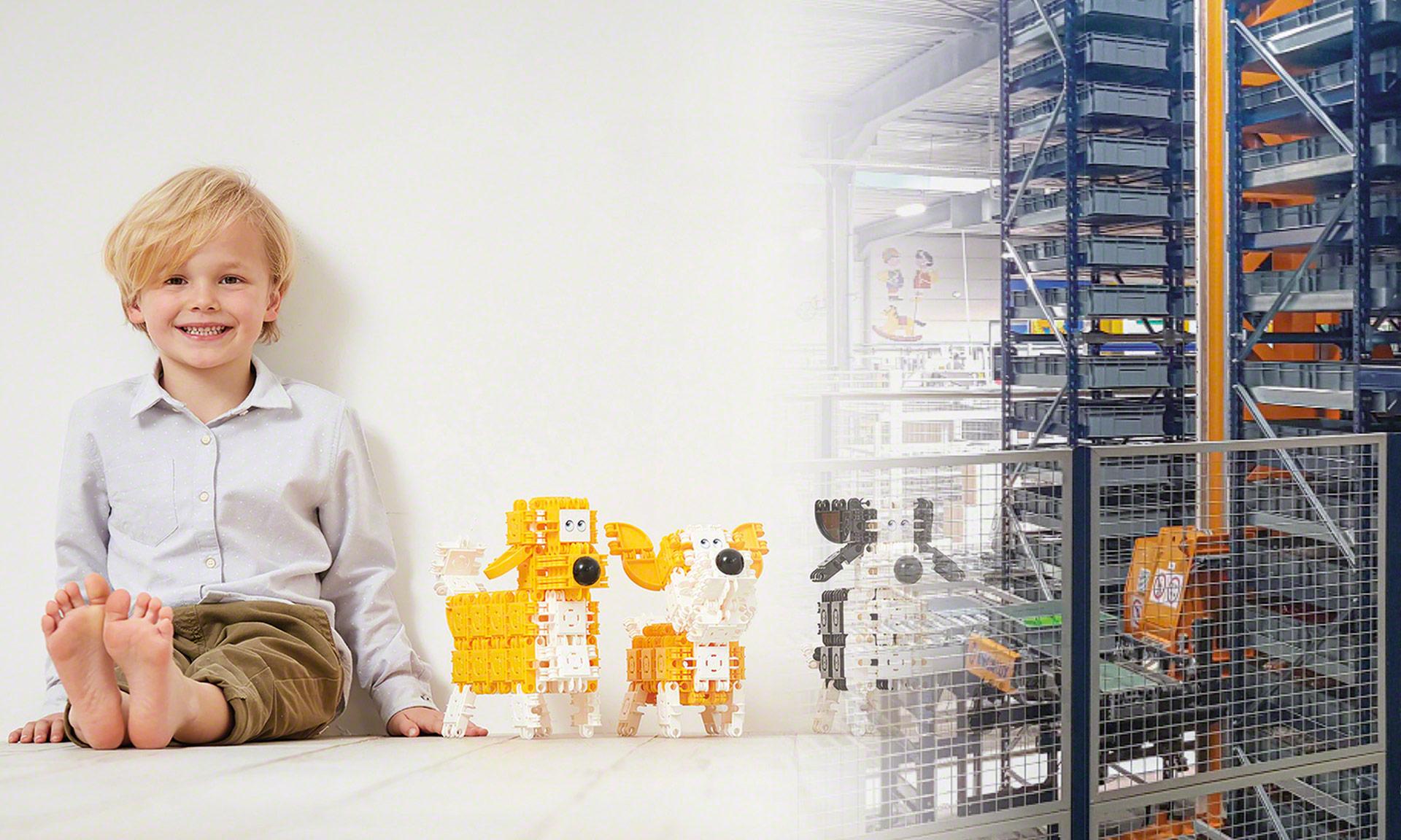 Clics Toys: Automatisierte Verwaltung von mehr als 150Millionen Teilen jährlich