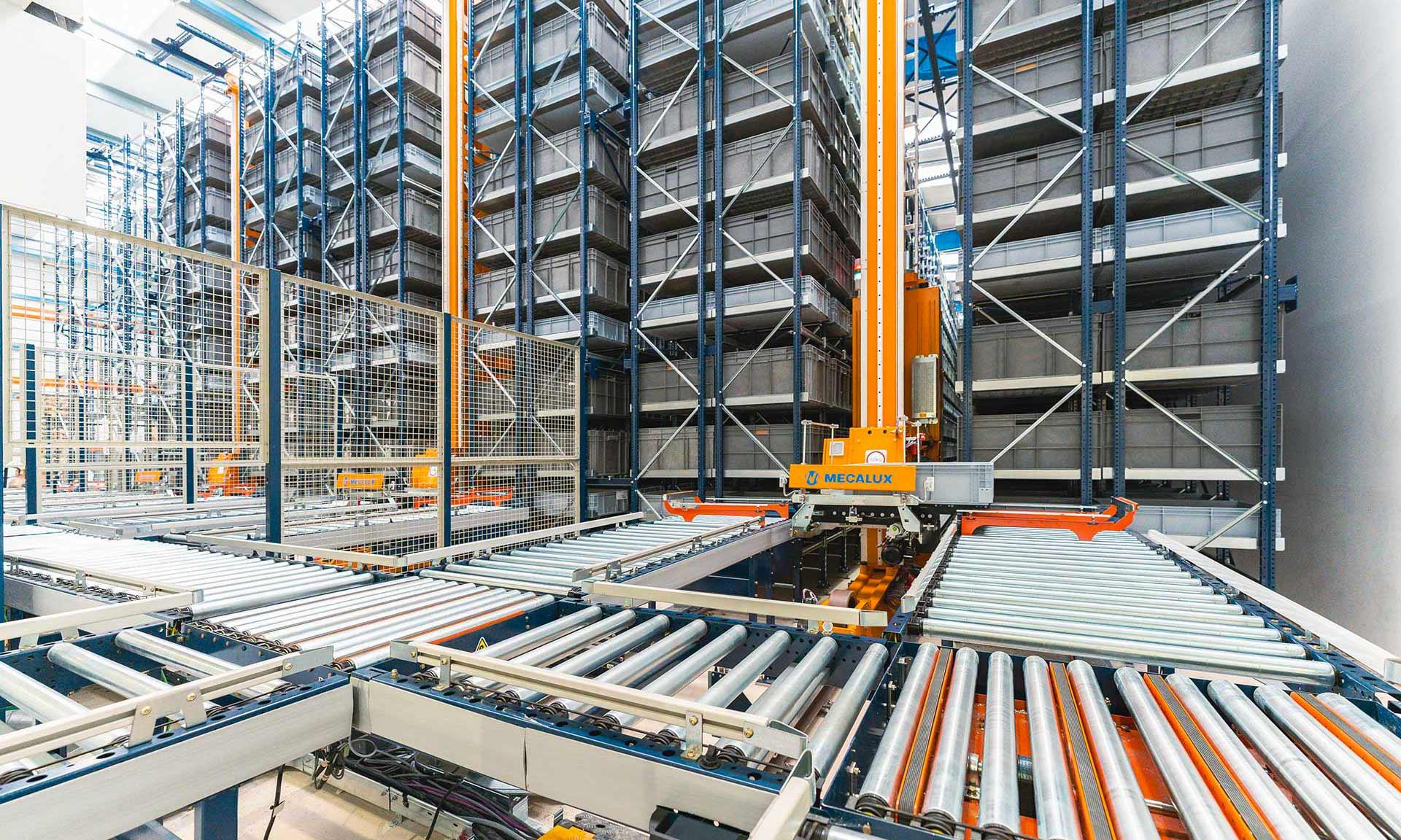 Normagrup: Automatisierung bringt Logistik zum Leuchten