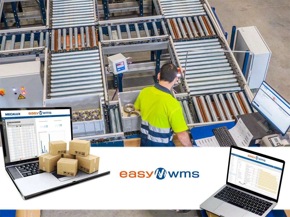 La implementación de un SGA como Easy WMS es imprescindible para coordinar los movimientos de mercancías y operarios propios del picking por zonas