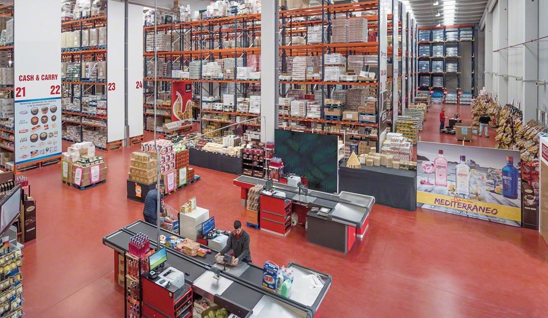 Store Fulfillment está diseñado para controlar el inventario del almacén y de las tiendas físicas
