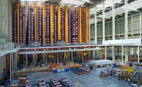 Mecalux schließt den Automatisierungsprozess der Lager der Porcelanosa Grupo in Castellón ab