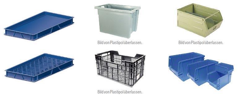 Es gibt unterschiedlichen Arten von Euroboxen, je nach Produkttyp.