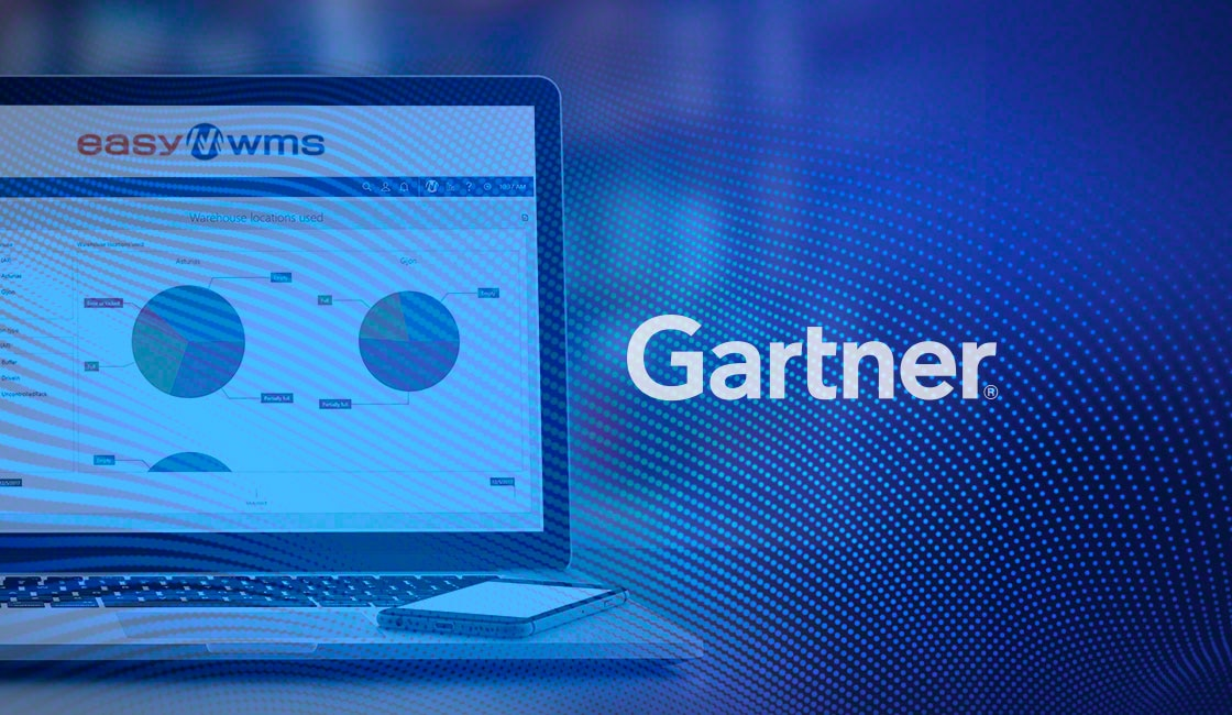 Easy WMS von Mecalux im Gartner Magic Quadrant for Warehouse Management Systems