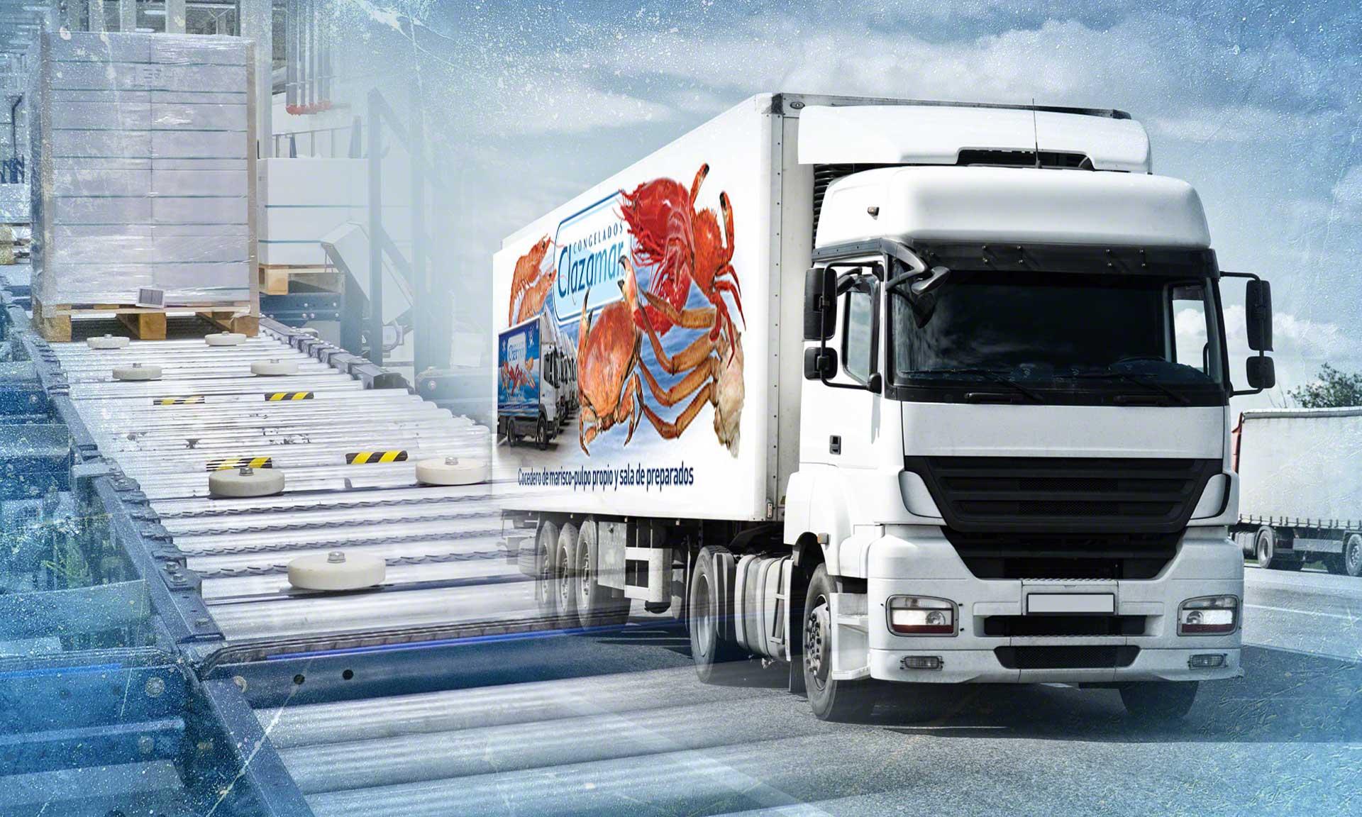 Das neue Lager von Grupo Clazamar in Spanien mit Tiefkühlprodukten